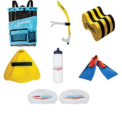 FINIS LARGE KIT BAG & FINIS CONTENTS - NEW MEMBERS KIT